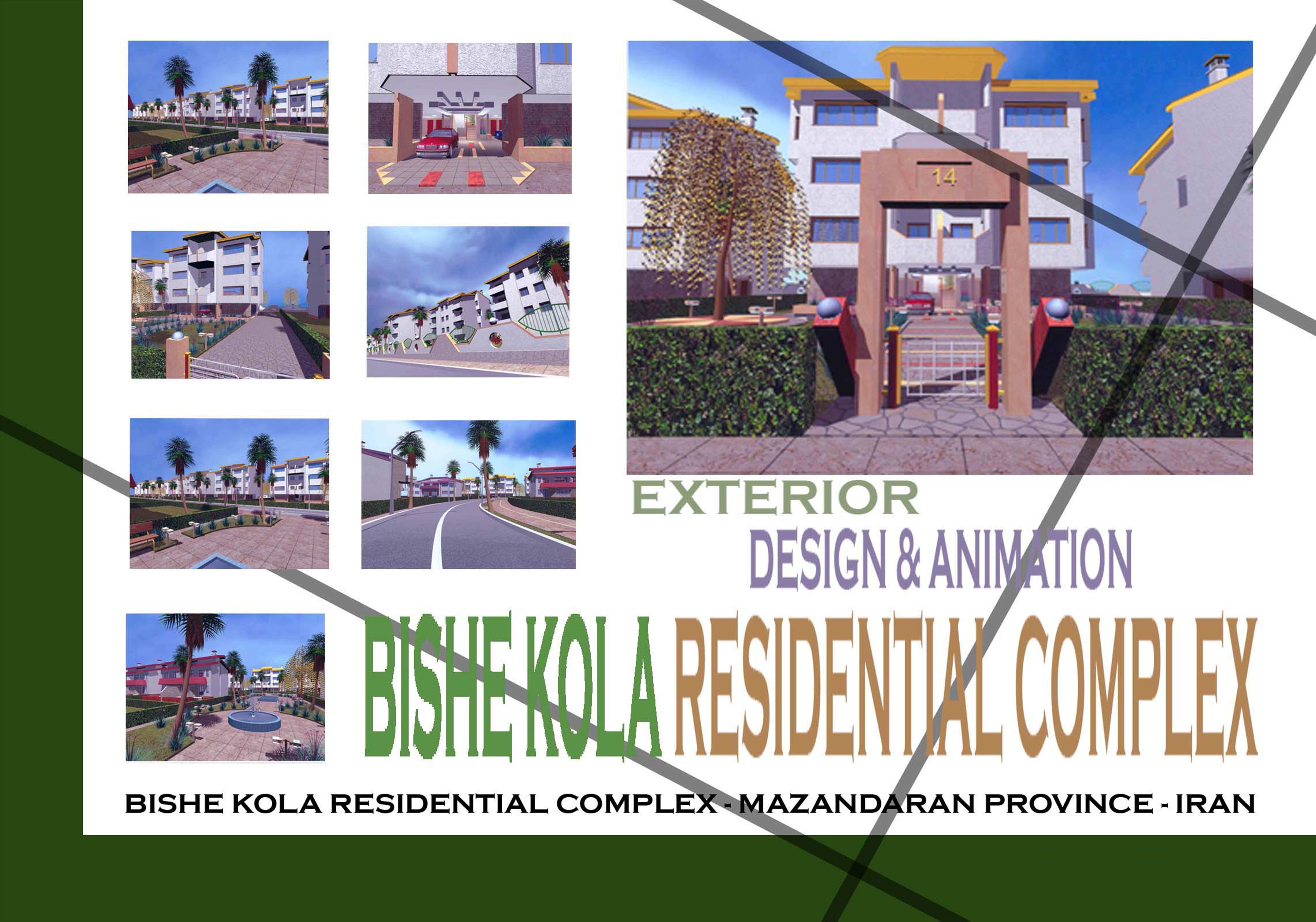 Bishekola Residential Complex Animation-Exterior